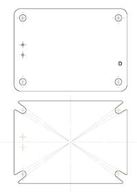 AlSiC铝碳化硅IGBT基板的U形孔设计
